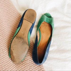 J.Crew Two Toned Ballet Flats